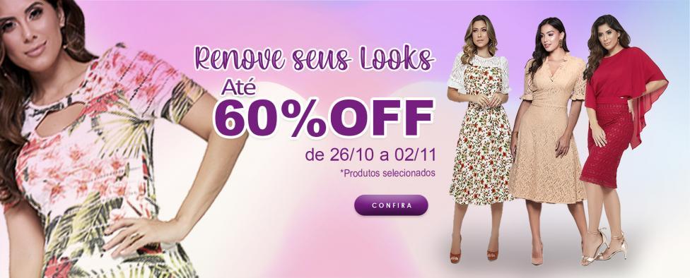 Renove seus looks (26/10 a 01/11)