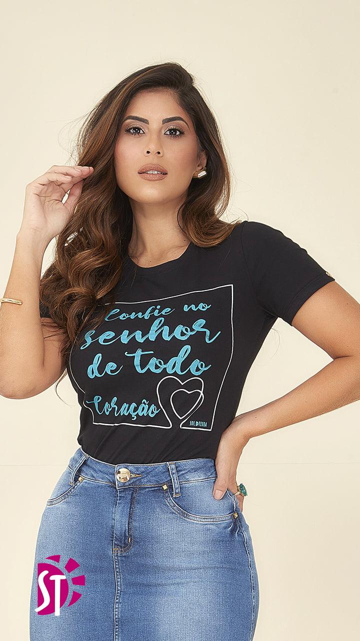T - SHIRT SOL DA TERRA - MODA EVANGÉLICA 05030