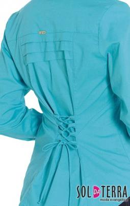 Camisa Feminina Evangélica Sol Da Terra - Moda Evangélica 02049