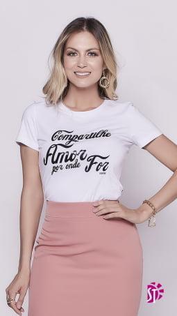 Kit de 3 Blusa T-Shirt