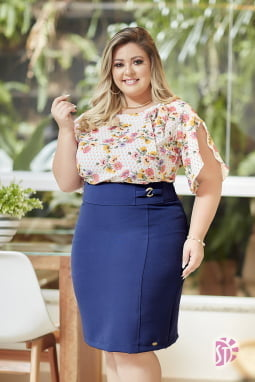 Kit de 2 Saias Evangélicas Plus Size